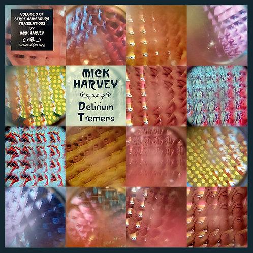 MICK HARVEY LP Delirium Tremens (Serge Gainsbourg Covers)