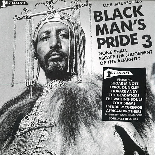 VARIOUS 2xLP Black Man's Pride 3 None Shall Escape The Judgement Of The Almight