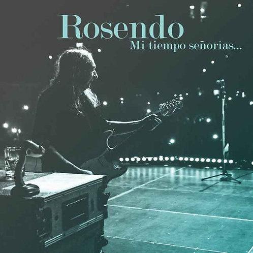 ROSENDO 2xLP+2xCD+DVD+BUFANDA  Mi tiempo señorías...