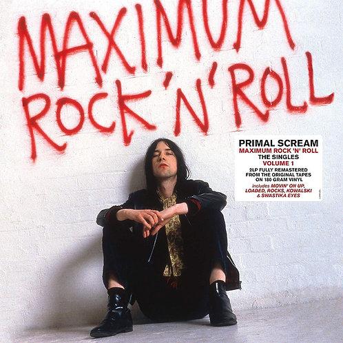 PRIMAL SCREAM 2XLP Maximum Rock 'N'Roll - The Singles Volume 1