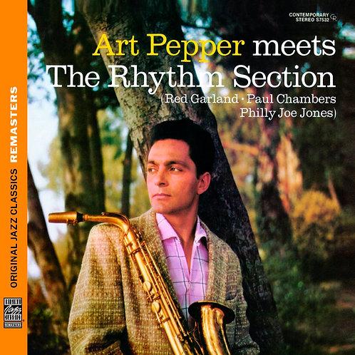 ART PEPPER CD Meets The Rhythm Section