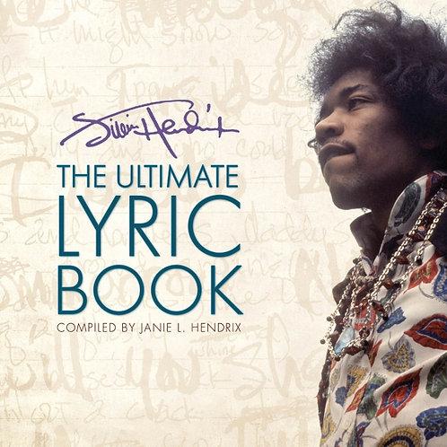 JIMI HENDRIX BOOK Ultimate Lyric Book