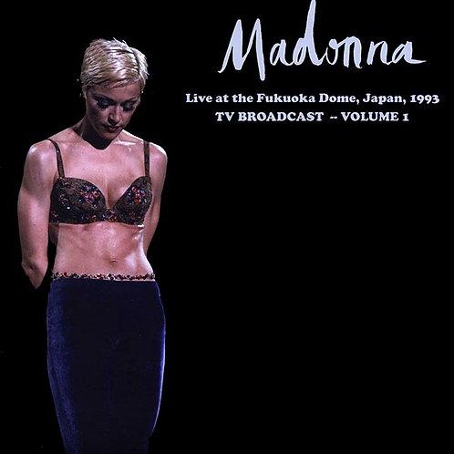 MADONNA LP Madonna Live at the Fukuoka Dome Volume 1 (Green Coloured Vinyl)