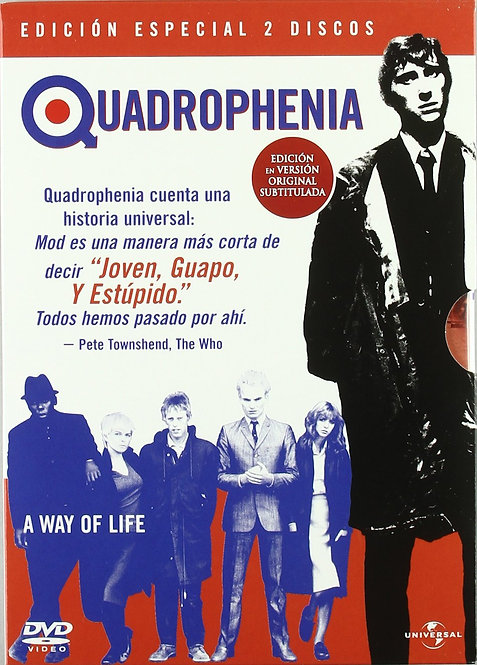 THE WHO 2xDVD Quadrophenia (Edición Especial 2 Discos)