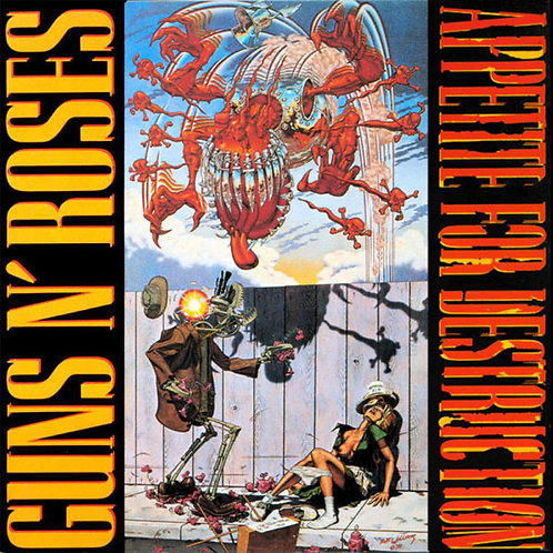 GUNS AND ROSES LP Appetite For Destruction
