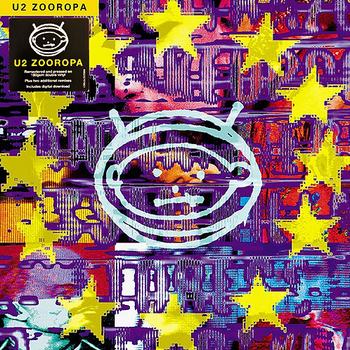 U2 2xLP Zooropa (Remastered + Bonus Tracks)