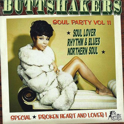 VARIOUS LP Buttshakers Soul Party Vol 11