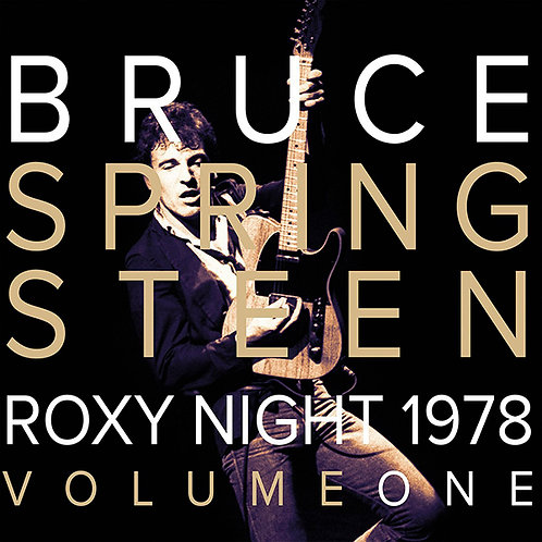 BRUCE SPRINGSTEEN 2xLP Roxy Night 1978 Volume One (Red & White Coloured Vinyl)
