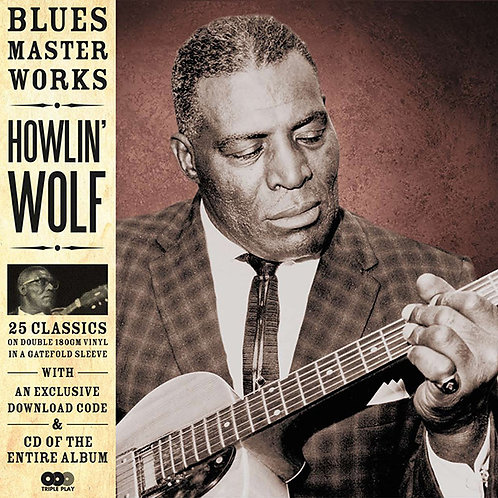 HOWLIN' WOLF 2xLP+CD Blues Master Works