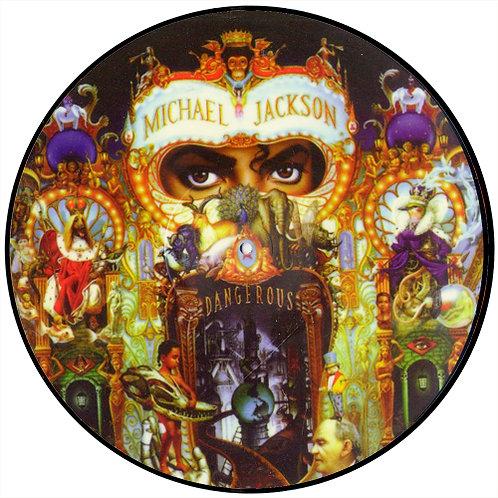 MICHAEL JACKSON LP Dangerous (Picture Disc Promo)