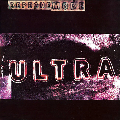DEPECHE MODE LP Ultra (Blue Coloured Vinyl)