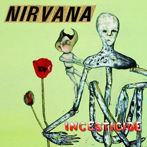 NIRVANA CD Incesticide + Bonus Tracks (Mini Lp Vinyl Replica)