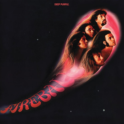 DEEP PURPLE LP Fireball (Textured Cover)