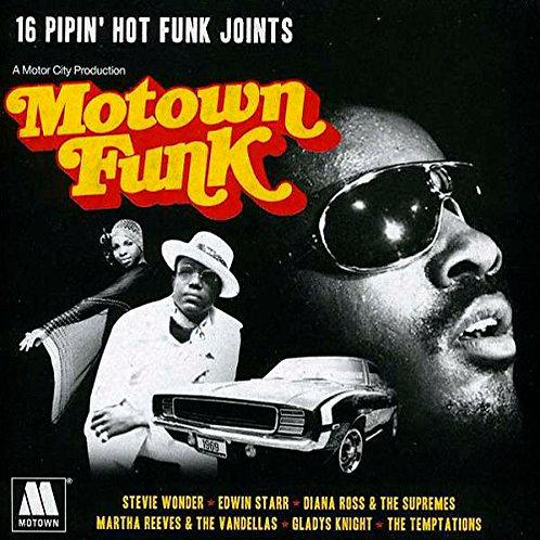 VARIOUS CD Motown Funk (16 Pipin' Hot Funk)