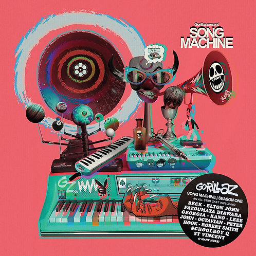 GORILLAZ 2xLP+CD BOX SET Song Machine Season One (Deluxe Limited Edition)