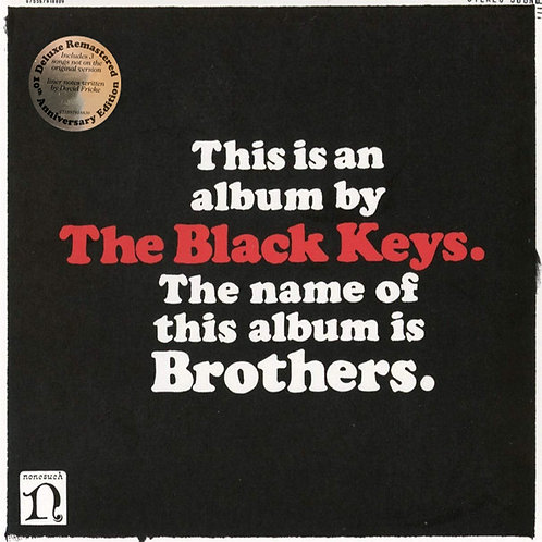 THE BLACK KEYS LP Brothers (10th Anniversary Deluxe Remastered Edition)