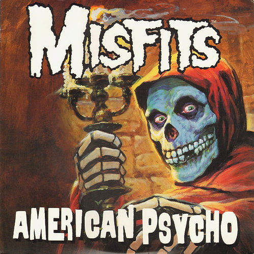 MISFITS LP American Psycho (Clear Green Coloured Vinyl)