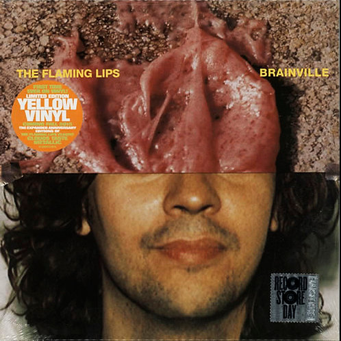 "THE FLAMING LIPS 10"" Brainville (Yellow Coloured Vinyl RSD 2015)"