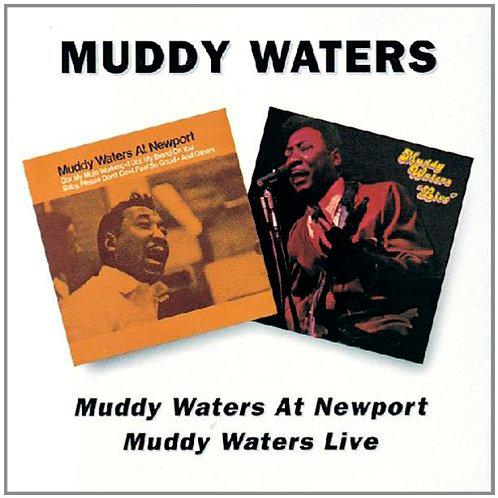 MUDDY WATERS CD At Newport / Live