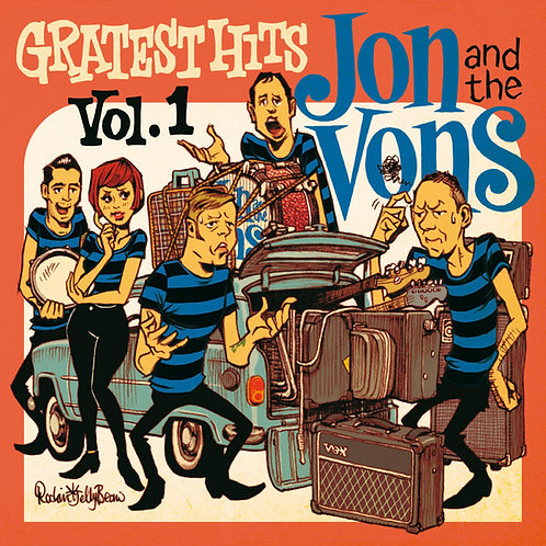 JON AND THE VONS LP Gratest Hits Vol.1