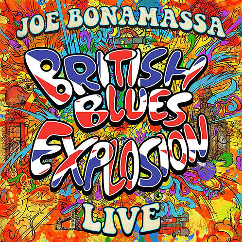 JOE BONAMASSA 3xLP British Blues Explosion Live
