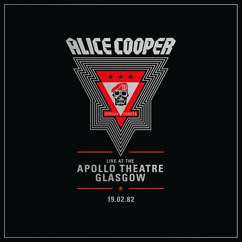 ALICE COOPER 2xLP Live from the Apollo Theatre Glasgow Feb 1982 (RSD Drops Oct
