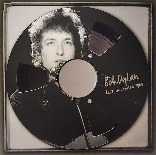 BOB DYLAN 2xLP Bob Dylan Live in London 1965 (Ultra Clear Coloured Vinyl)