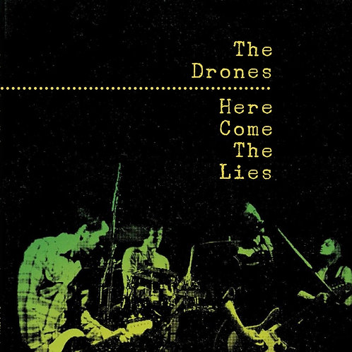 THE DRONES 2xLP Here Come The Lies