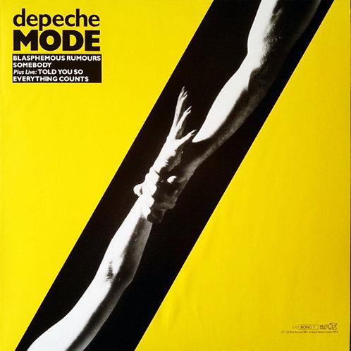 DEPECHE MODE MAXI-LP Blasphemous Rumours / Somebody