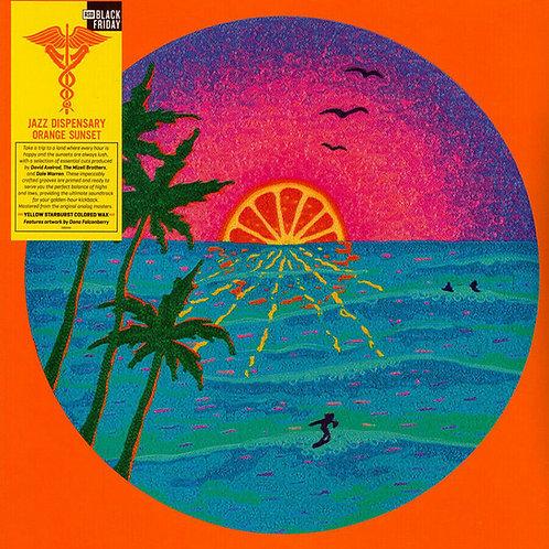 VARIOS LP Jazz Dispensary: Orange Sunset (Yellow Starburst Coloured RSD 2020)