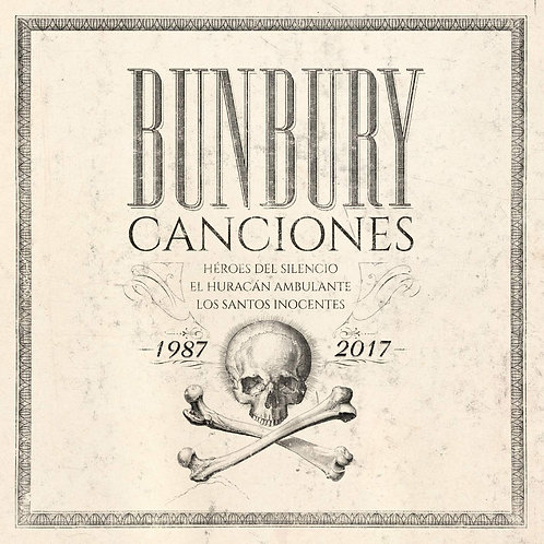 BUNBURY BOX SET 8xLP+4xCD+BOOK Canciones