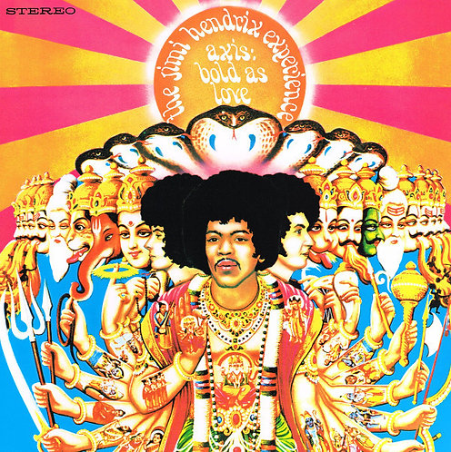 JIMI HENDRIX LP Axis Bold As Love (Remastered 180 gram)