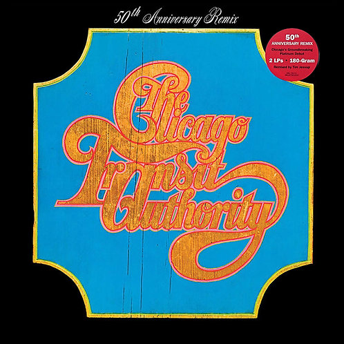 CHICAGO TRANSIT AUTHORITY 2xLP Chicago Transit Authority (50th Anniverary Remix)