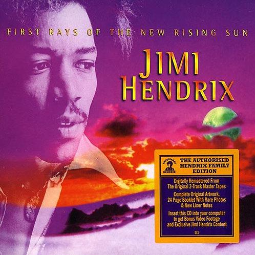 JIMI HENDRIX CD+DVD First Rays Of New Rising Sun
