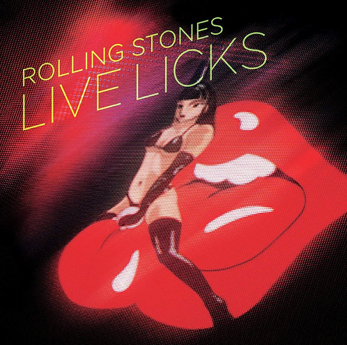 ROLLING STONES 2xCD Live Licks