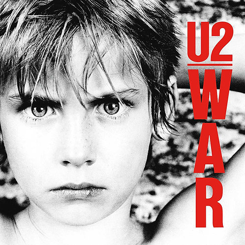 U2 LP War (Remastered with booklet)