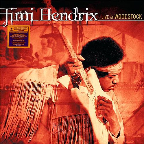 JIMI HENDRIX 3xLP Live At Woodstock (180 Gram Audiophile Vinyl)