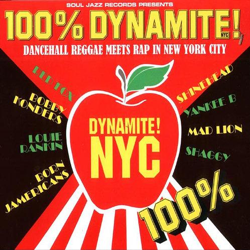 VARIOUS 2xCD 100% Dynamite NYC! (Dancehall Reggae Meets Rap In New York City)