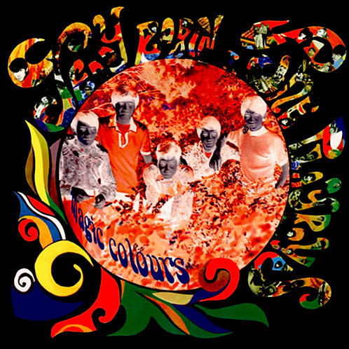TEDDY ROBIN & THE PLAYBOYS LP Magic Colours