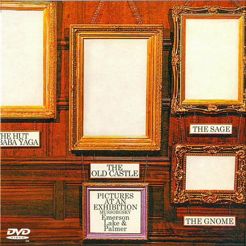 EMERSON, LAKE & PALMER CD+DVD Pictures At An Exhibition