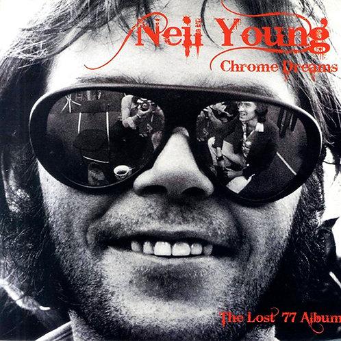 NEIL YOUNG LP Chrome Dreams The Lost 77 Album