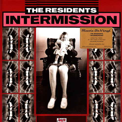 THE RESIDENTS LP Intermission (Pink Coloured Vinyl