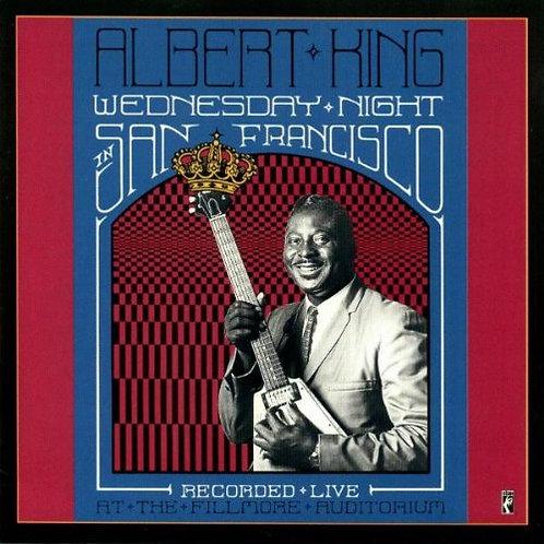 ALBERT KING CD Wednesday Night In San Francisco