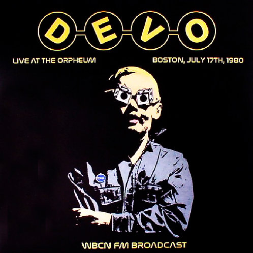 DEVO LP Live At The Orpheum, Boston, July 17th, 1980