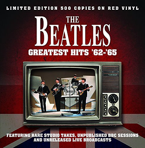 BEATLES LP Greatest Hits '62-'65 (Red Coloured Vinyl)
