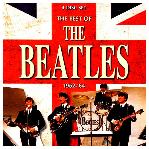 BEATLES 3xCD+DVD The Best Of The Beatles 1962-'64