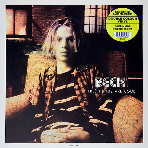 BECK LP Free Things Are Cool (Burgundy and Yellow Vinyl Coloured Vinyl)