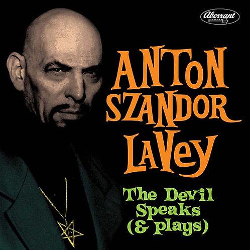 ANTON SZANDOR LAVEY LP The Devil Speaks (& Plays)