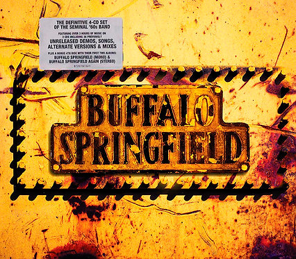 BUFFALO SPRINGFIELD BOX SET 4xCD Buffalo Springfield