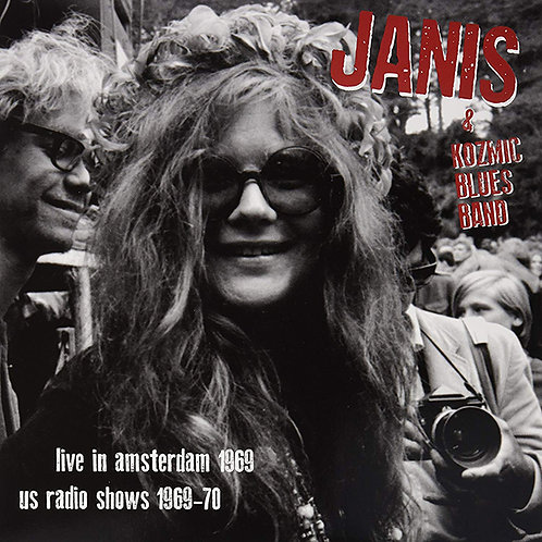 JANIS JOPLIN LP Live In Amsterdam 1969, US Radio Shows 1969-70
